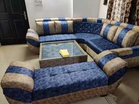 Ciaz L shape sofa