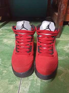 Nike Air Jordan 5 red-black