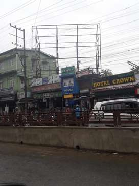 Commercial space Urgent sell plot near road side