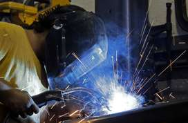 Welder Ki Zarorat Ha Sign Board Fitter