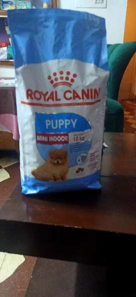 Royal canin puppy indoor ( France)
