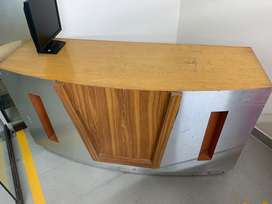 Office reception table counter