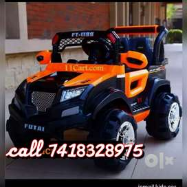 Kids driving jeep cars bike at wholesale prices 7000 only