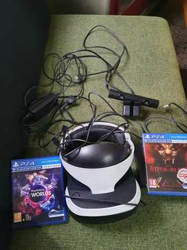Ps4 and psvr for sale