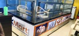 PASTRY COUNTER / COLD FREEZER ( GLASS TYPE ) 1 TON