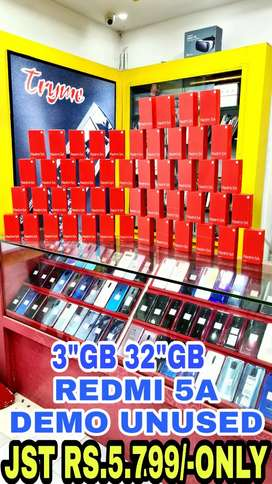 TRYME 3Gb/32Gb Unused REDMI 5A Demo fUll Kit Box