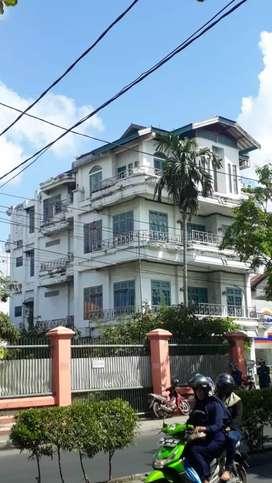 Dujual Tanpa Perantara Rumah siap huni didepan jalan  besar S Parman