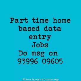 Urgent requirement for data entry and typing jobs