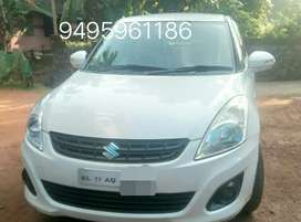 Swift dzire white  Price neboshable