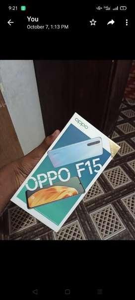 OPPO f15    4GB ram 128 storage  3 month use