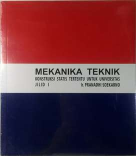 Buku MEKANIKA TEKNIK untuk universitas