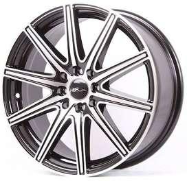 Pelek Mobil HSR Wheel - ATHELETE DM309 R17X7 H8X100-114,3 ET45 BMF
