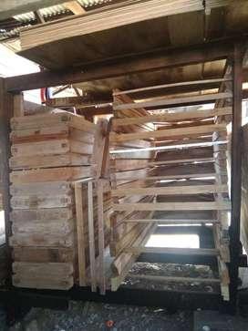 kusen Jendela kayu Meranti