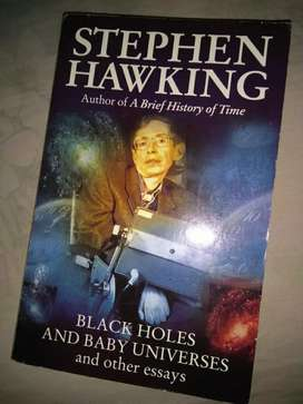 Stephen Hawking-  Author of a brief history of time