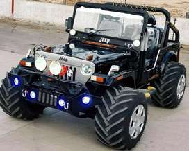 Dashing Look Modified Open Jeep