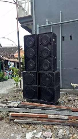 Jual sound system jarang di pakai