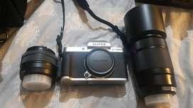 Fujifilm, XT200 Mirror less, 15-45 XC lens 50-230XC lens, 1.5month old