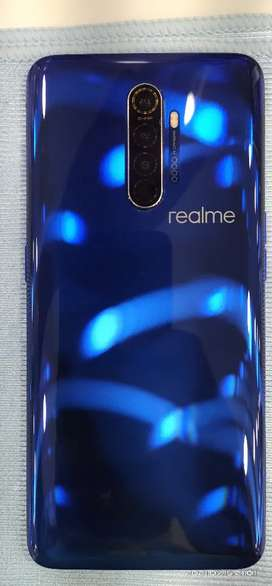 REALME X2 PRO 8+128 MOBILE WITH ORIGINAL VOOC CHARGER AND BOX BILL.