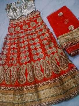 Lehnga withi chunri best design