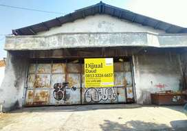 Murah Dijual Tanah + Gudang di Jalan Raya Kletek, Taman, Sidoarjo