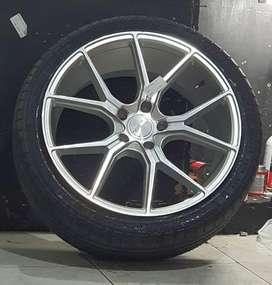 Kredit Velg Mobil Ring 19 HSR Nebraska Bisa Cicilan 0% Yankee Padang