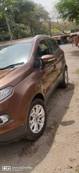 Ford Ecosport 2017 Diesel 57000 Km Driven