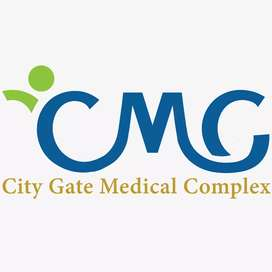 Need a female receptionist for new medical complex H13