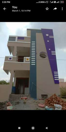 Newly built ground floor house for rent