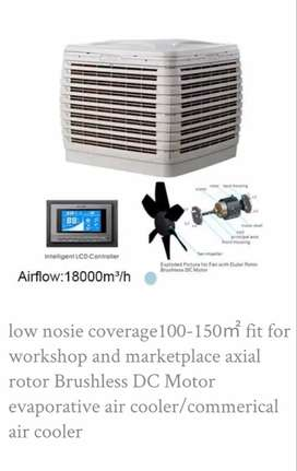 Air Evaporative Chiller  AIR FLOW (18000m³/h )(AOLAN AC & DC inverter)