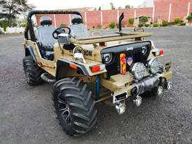 Newly modified hunter jeep fully modified by akhand automobiles