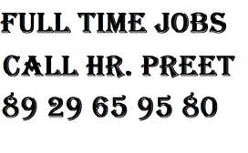 company Full time job apply in helper,store keeper,supervisor 100%  CO