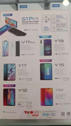 VIVO S1 Pro  & Semua Type HP Promo Bunga 0%