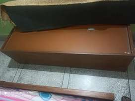 Central table, Multipurpose cabinet, wooden chaise