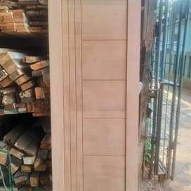 pintu jendela kayu