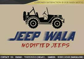 JEEP WALA MODIFIED JEEPS
