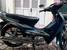 Honda Supra Tromol, Tahun 2000, AD Solo, Pajak Hidup Surat² Komplit