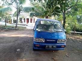 Minibus jadi pickup