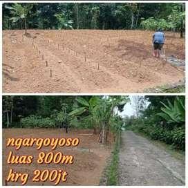 Dijual tanah di jl ngargoyoso Tawangmangu solo