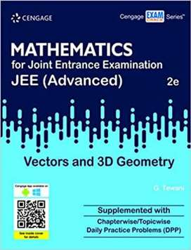 CENGAGE VECTOR AND 3D GEOMETRY for IIT JEE (with DPP)