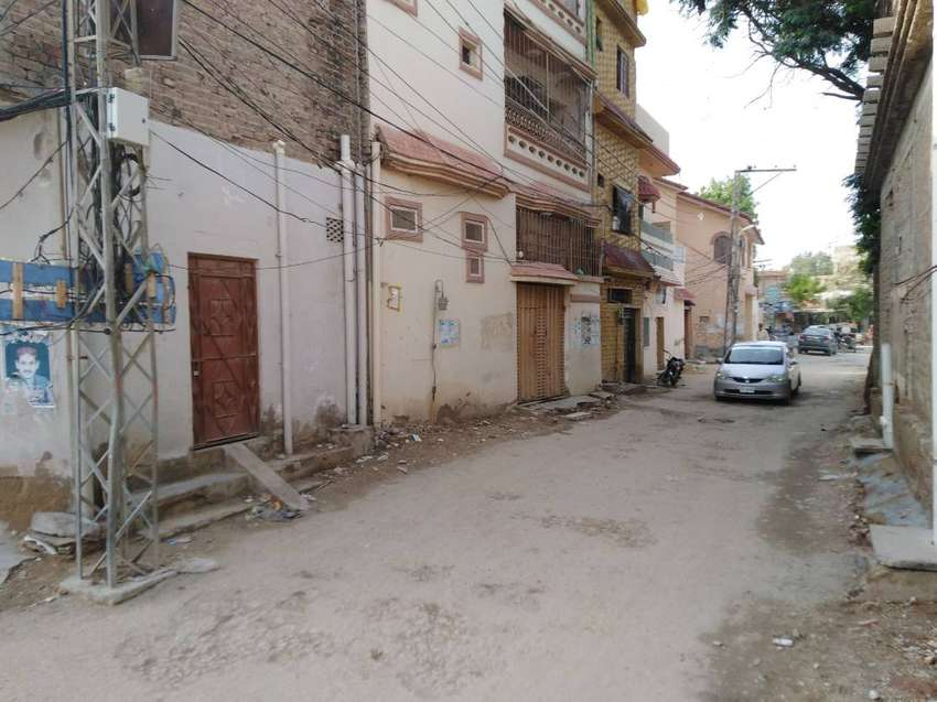 Corner Double Storey House For Sale in Latifabad No 9 0