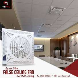 "FANPRO False Ceiling Fan 14"" 2x2 with Warranty"
