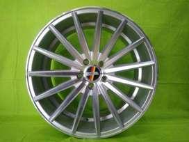 velg racing mercy ring 19 tipe ms 709 warna silver