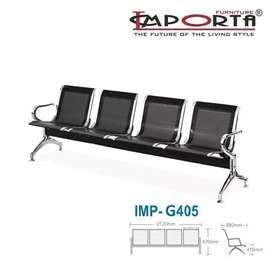 4 SEATS kursi TUNGGU Umum Ready Stock BARU Free Ongkir Jakarta