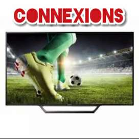 """Onsite warranty 2 yrs with 55"""" Uhd Android 4k new led tv"""