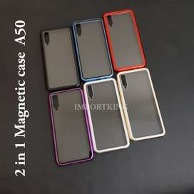 Samsung A50 Premium 2 In 1 Magnetic Phone Case - FT762H