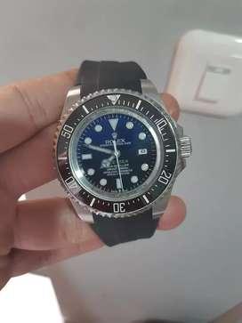 Jam Rolex Rubber Automatic