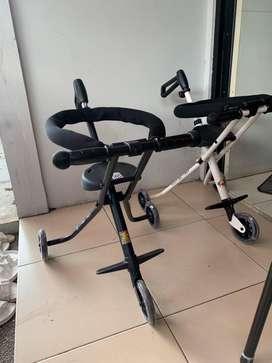 2Pcs Stroller Bike Balita