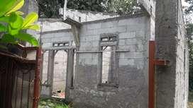 Dijual:Tanah&bangunan /Rukam,(rumah kampung)SHM
