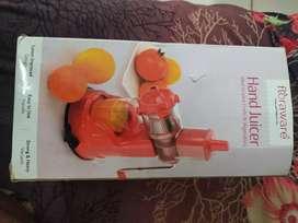 Plastic Jusar hand machine