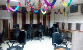 1cabin+10sitting+fully furnished office space for rent in noida near